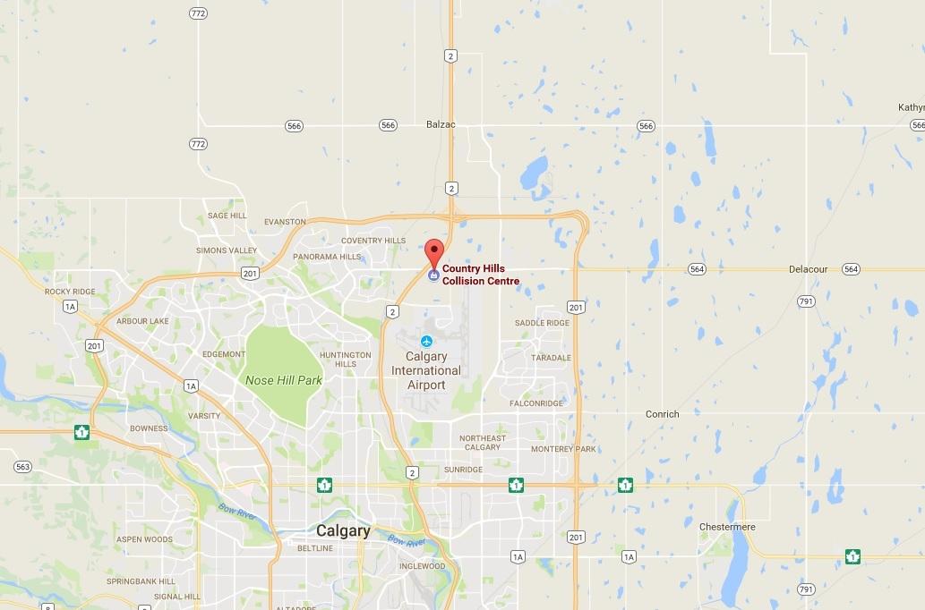 Country Hills Collision Centre – NE Calgary, Alberta