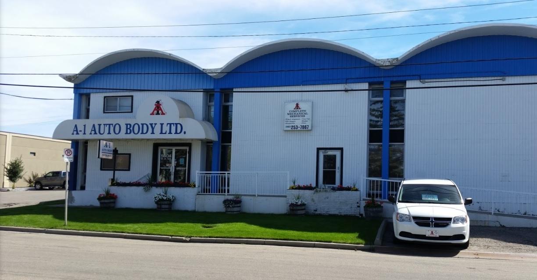 a-1 auto body shop calgary alberta
